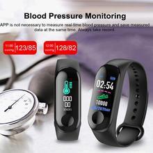 Smart Wristband M3 Smart Brand Smartband Blood Pressure Measure Smartband Heart Rate Smart Wristband Bluetooth Smartband x9 bluetooth 4 0 heart rate monitor smartband tpu strap black