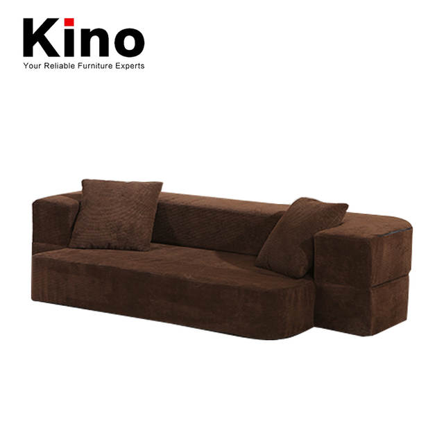 US $291.0 50% OFF|Manufacturer Direct Sale Brown Linen Fabric Sofa Ground  Safety Comfort-in Living Room Sofas from Furniture on Aliexpress.com | ...