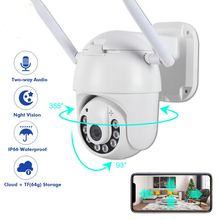 V380Pro 1080P PTZ IP Camera Wireless WiFi Outdoor Speed Dome Security Surveillance Two Way Audio Night Vision H265IP66