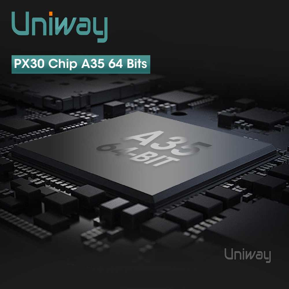 Uniway ADZ9071 アンドロイド 9.0 車の dvd vw パサート b6 b7 ゴルフ 5 6 ティグアンポロオクタヴィア迅速なマルチメディアナビゲーションプレーヤー