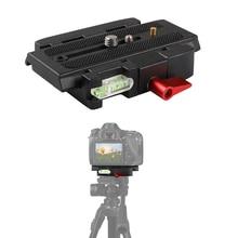 P200 Camera Quick Release Plate&1/4''&3/8'' Screw&Spirit Level for Manfrotto 501HDV 503HDV 701HDV 577/519/561/Q5|Tripod Adapter