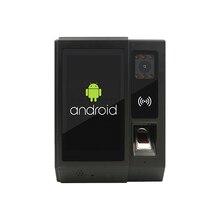 Android Tijdregistratie Biometrische Vingerafdruk Nfc Reader Met Camera Toegangscontrole Deurslot Functie Voor Kantoor Hr Management