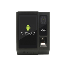 Android di Presenza di Tempo Biometrico di Impronte Digitali Lettore NFC Con La Macchina Fotografica Funzione di Serratura della Porta di Controllo di Accesso Per Ufficio HR di Gestione