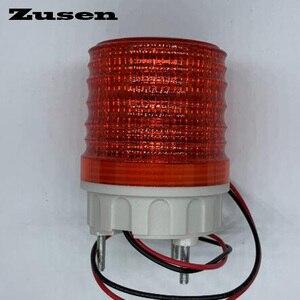 Image 2 - Zusen TB5051 220 В Трехцветная сигнальная лампа Предупреждение ющий светильник светодиодный, маленький мигающий светильник