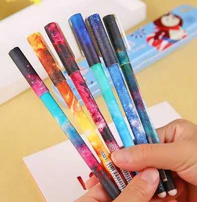 1 sztuk Kawaii Starry Sky długopis magiczny Pilot długopis szkolne materiały biurowe do pisania szkolne materiały papiernicze długopis