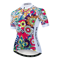 2019 Cycling Jersey Women Bike jerseys MTB mountain road Tops Ropa Maillot Ciclismo Racing Bicycle Shirts cycle top white girls