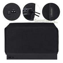 PlayVital siyah naylon yatay tozluk Anti Scratch su geçirmez kol örtüsü Xbox serisi X konsolu