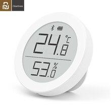 Youpin Cleargrass e link mürekkep ekran Bluetooth sıcaklık akıllı nem sensörü LCD termometre nem ölçer çalışma Mihome APP