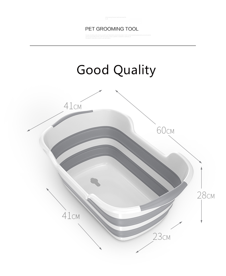 Good Quality Folding Baby Bath Tub Made Of PP And TRP Material For Safe Bath Of Children 11