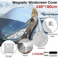 Universal Windschutzscheibe Sonnenschirme Auto Covers Schutz Eis Frost Schnee Schild Schatten Magnetische Windschutz Auto Abdeckung|Car-Cover|   -