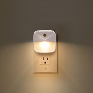 Image 2 - Plug in night light with Sensor Wireless Energy Saving Lighting children Living Room Bedroom safe convinent warm white Wall Lamp