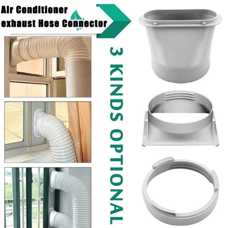 Mobile Air Conditioning Exhaust Pipe Interface Exhaust Hose Tube Connector Portable Air Conditioner Window Pipe Interface