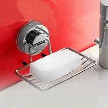 Нержавеющая сильная всасывания мыло настенный держатель Блюдо Корзина лоток Ванная комната Душ Чашки