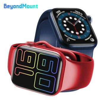 HW12 Smart Watch 6 40MM 1.57 Oxygen Measure Heart Rate Monitor Bluetooth Call Music Play PK W56 IWO 13 Max Smartwatch W26 IWO 12 часы iwo smart watch iwo 11