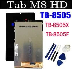 Жк-дисплей 8,0 дюйма для Lenovo Tab M8, HD, кнр, аналогичный строке, TB-8505, сенсорный экран с цифровым преобразователем в сборе + инструмент