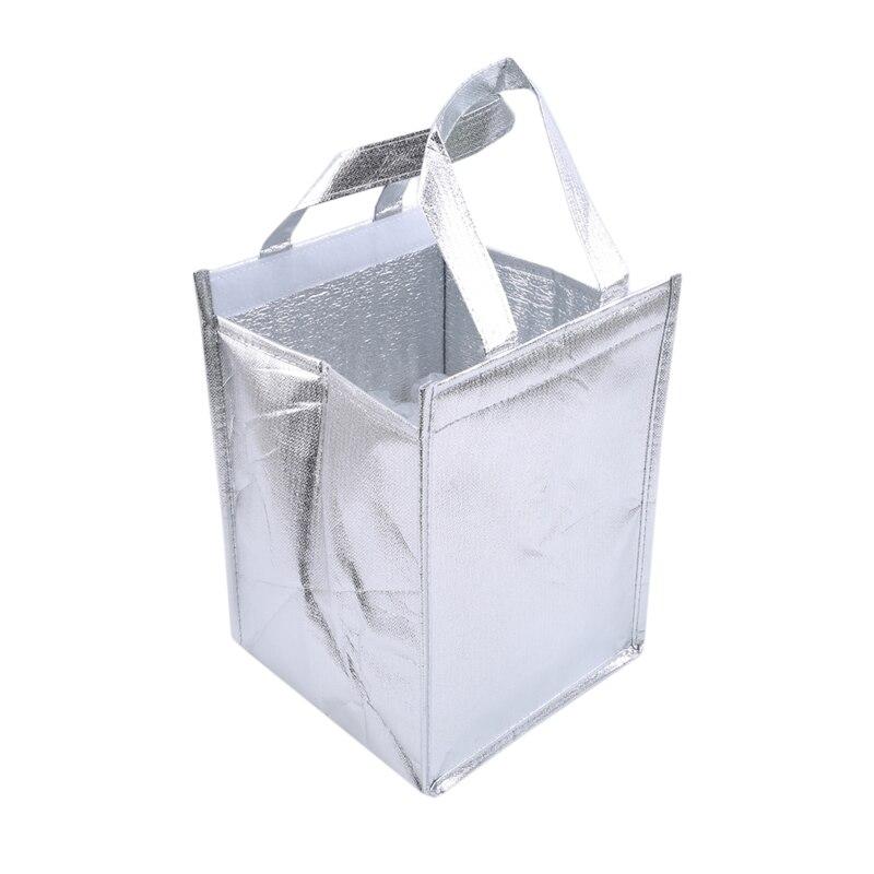 Sac isotherme étanche de 4 pouces, sac isotherme pliable, Portable, pour pique-nique, glacière, thermique, pour la livraison daliments, de pizzas