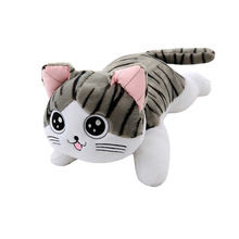 hot 2019 new 30cm 40cm white ping cute plush cat toys stuffed plush animals cartoon cat doll toys kids toys girls christmas gift 30CM Kawii Cute Sweet Cat Stuffed Fashion Animals Cats Plush Toys Dolls for Kids Girls Baby Toys Plush /nano Doll PP Cotton Car
