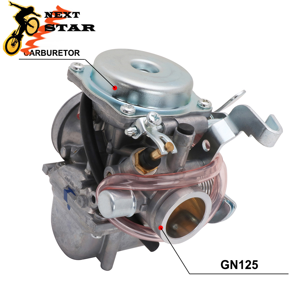 High Quality With High performance Motorcycle Carburetor Assembly For Suzuki GN125 GN 125 GN-125 CARB EN125-2 GS125 GS Motorbike image