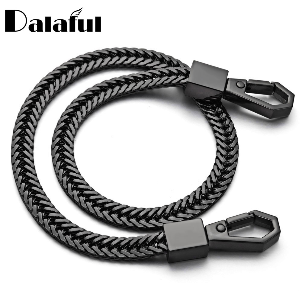 41cm Key Chains Long Metal Wallet Belt Rock Punk Trousers Hipster Pant Jean Keychain Clip Anti-lost Keyring Jewelry For Men