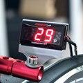 Мотоцикл цифровой термометр измеритель температуры воды с подсветкой дисплей мотоциклы термометр Вольтметр таймер