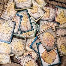 24 unids/pack Vintage deja la música nota boleto etiqueta engomada DIY Scrapbooking álbum diario planificador pegatinas