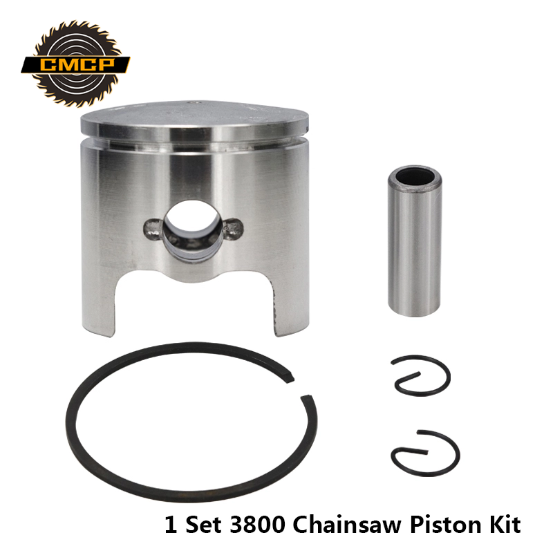 4pcs 3800/38CC Cylinder Piston Kit For Gaslion Chainsaw Spare Parts Cylinder Piston Seal Chainsaw Piston Rings