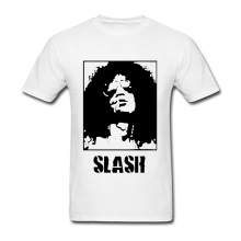 2019 Popular Short Sleeves Male Summer Guns N Roses Guitarist Slash T Shirt Crew Neck Classical Guitar Player Tees Man