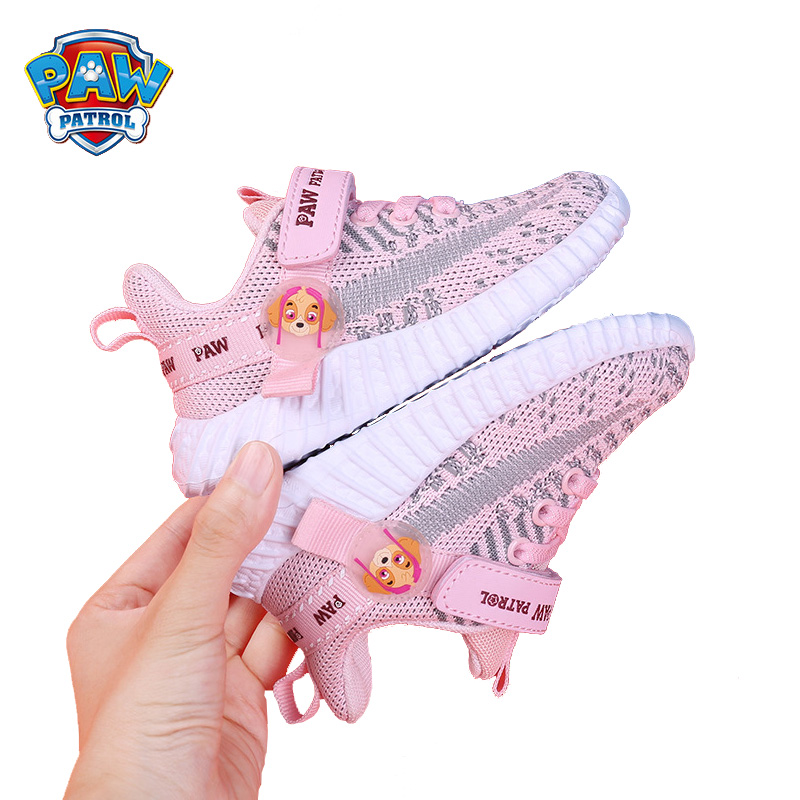 OriginalPaw patrol Boys and girls baby Children's  shoes mesh shoes soft bottom baby sports leisure toddler shoes