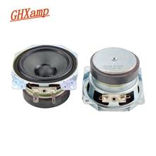 مكبر صوت متوسط الكثافة 2.5 بوصة من GHXAMP مكبر صوت وحدات 4OHM 10 واط حوض من الورق المغناطيسي المزدوج حافة من القماش مكبر صوت Colum عدد 1 زوج