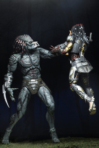 In stock two styles Predator armored assassin deluxe action figure Collectible Model Toys Doll for Gift 26cm/18cm