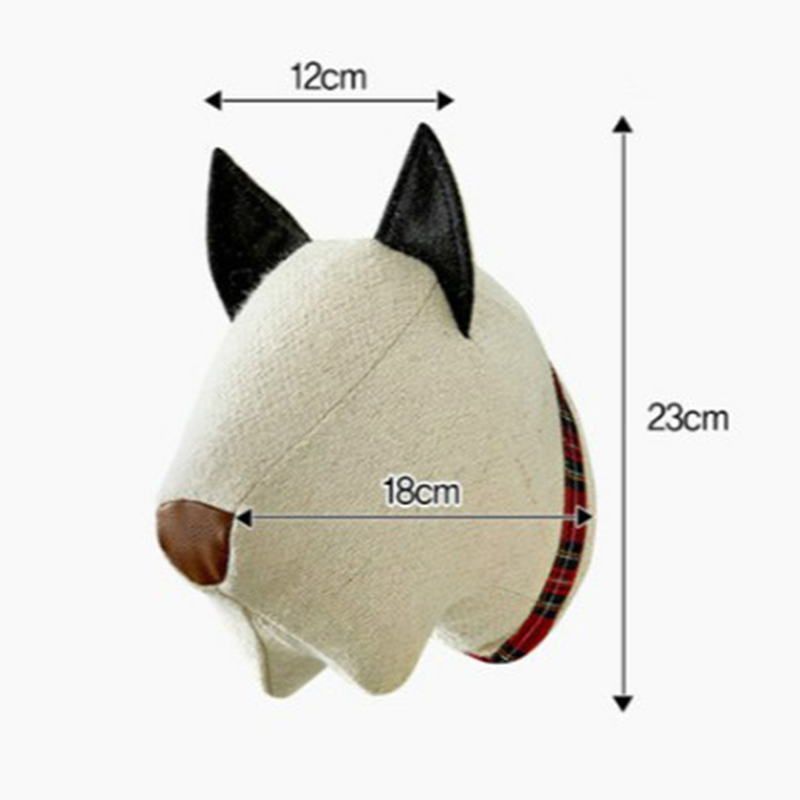 animal wall decoration head toys (3)