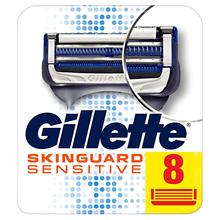 Original Gillette SKINGUARD Fusion Razor Blades Men Sensitive Shaver Blade Black Technology Smooth Shaving Experience