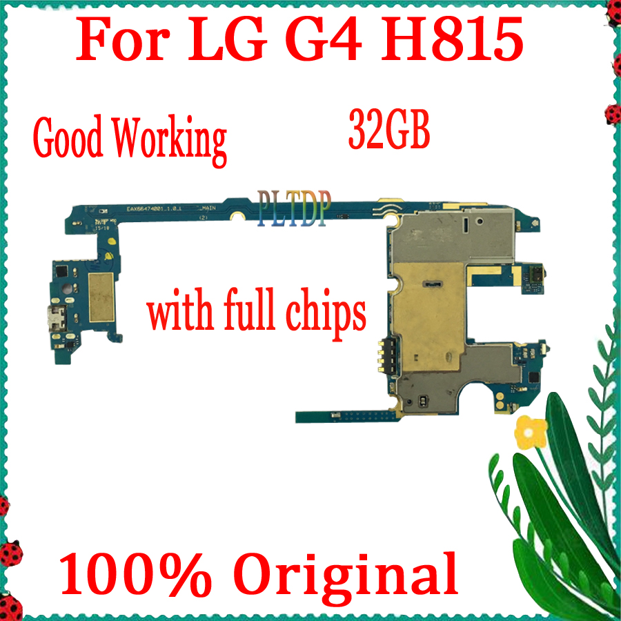 100% Original official version for <font><b>LG</b></font> G4 <font><b>H815</b></font> <font><b>Motherboard</b></font> with Full Chips,32gb for <font><b>LG</b></font> G4 <font><b>H815</b></font> Logic board with Android System image