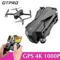 OTPRO Mini Drone WIFI FPV Mit 4K 1080P Kamera 3-Achsen Gimbal GPS RC Racing Drone Quadcopter RTF mit Sender Z5 F11 pro EDERS