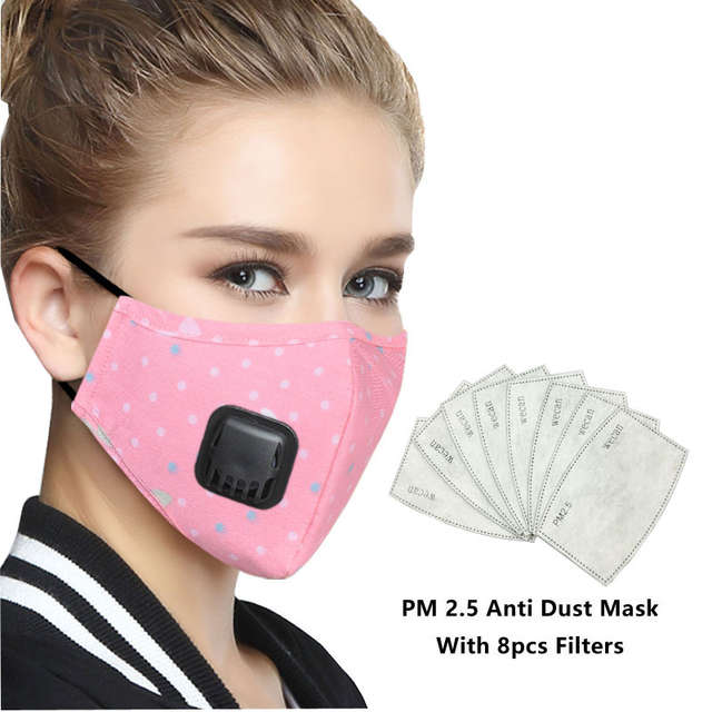 Filter Pollution Air Kpop Anti Korean Mask Cotton Mouth Face