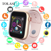 Z6 Fitness Bluetooth Smart Watch Supports Android Phone SIM Card Camera Touch Screen Support SIM TF Card Sports Clock Kids Watch стоимость