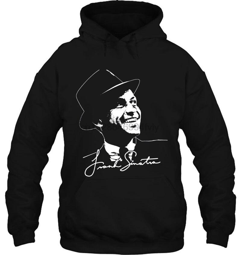 Frank Sinatra Drawing & Signature Version Women Streetwear Men Women Hoodies Sweatshirts