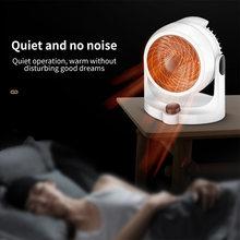 Портативный воздушный отопитель зимнее теплое МАЛОШУМНОЕ спальное/офисное/энергосберегающее