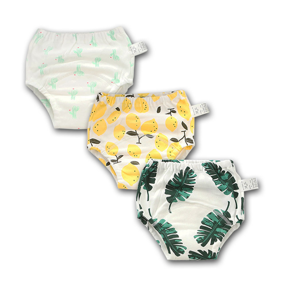 Babyfriend New Cute 100/% Cotton Boys Reusable Toilet Potty Training Pants Breathable Baby Underwear,Soft and Comfortable