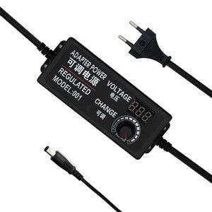Image 5 - Регулируемый адаптер питания переменного тока в постоянный ток 9 V 24 V 3A Универсальный светодиодный Регулируемый источник питания adatpor