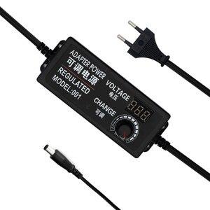 Image 5 - 調節可能な電源アダプタ ac DC 9 V 24 V 3A ユニバーサル LED 電圧安定化電源 adatpor