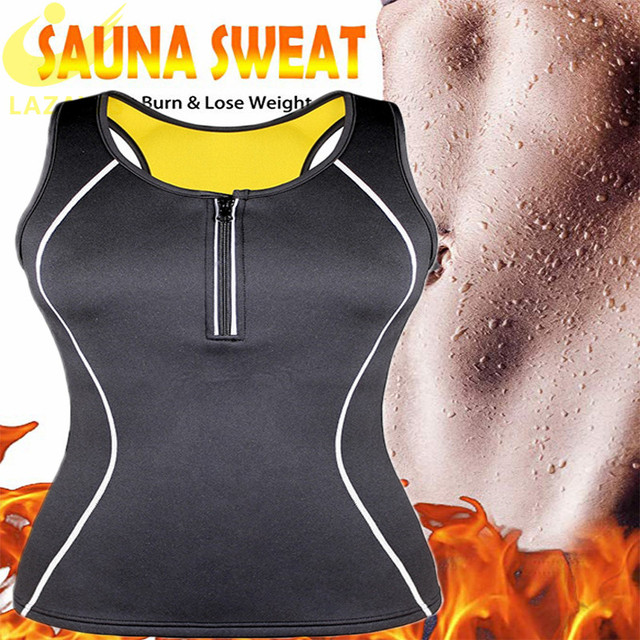 Neoprene sauna suit for women, hot sweat, training vest