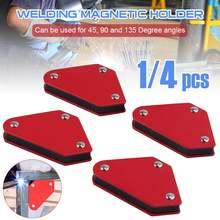 4 шт сварочный магнит магнитный квадратный держатель стрелочный