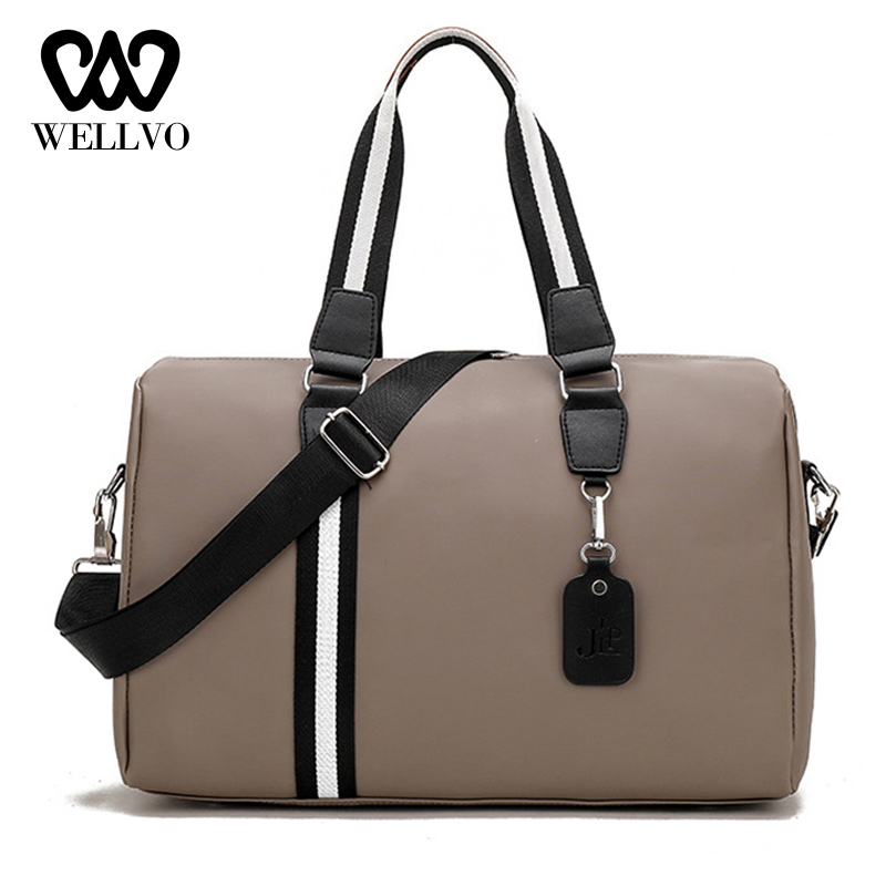 Unisex Nylon Woman Travel Bags Large Handbag Carry On Luggage Weekend Bag Ladies Multifunction Duffle Bag For Men 2019 XA733WB
