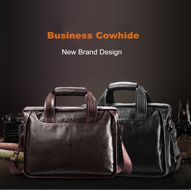 H2783b636a942491cb15f63f38c4a1ff1C 2019 New Fashion cowhide male commercial briefcase /Real Leather vintage men's messenger bag/casual Natural Cowskin Business bag