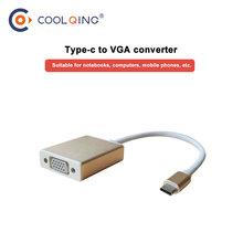 USB C To HDMI 4K VGA Adapter USB 3.1 Type C USB-C to VGA HDMI Video Converters Adaptor for Macbook Pro/ Chromebook Pix цена и фото