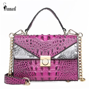 FUNMARDI Women Handbags Alliga