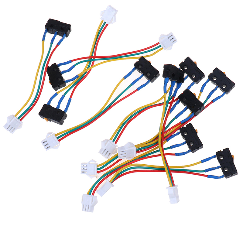 10pcs Gas Water Heater Micro Switch Three Wires Small On-off Control Without Splinter