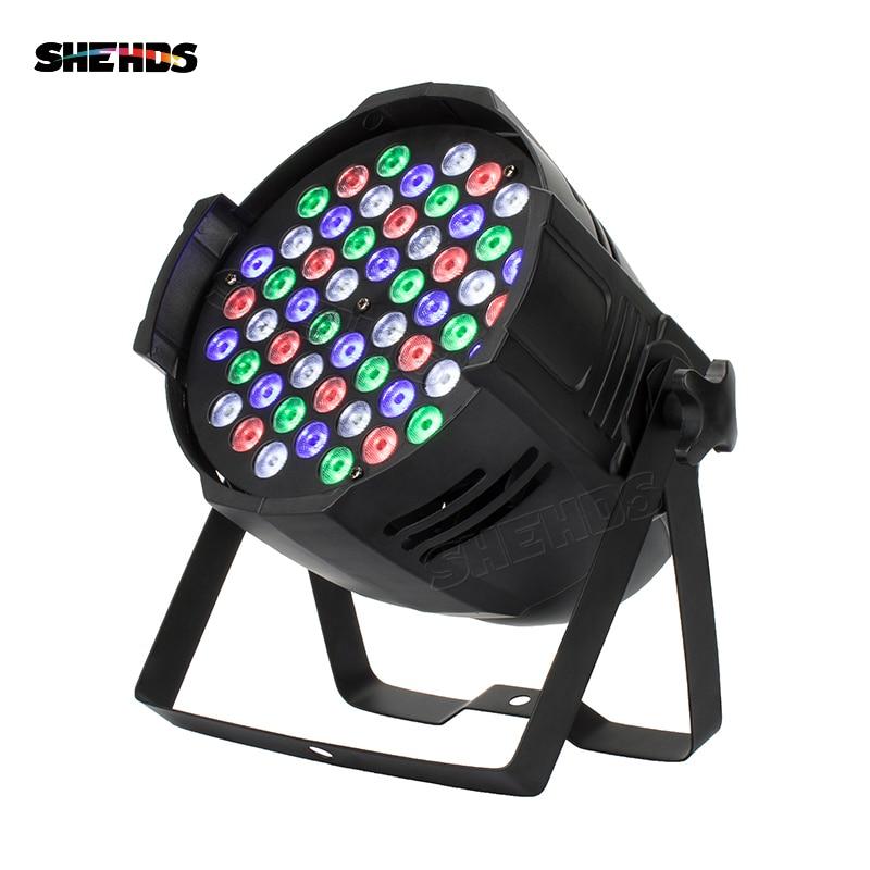 54x3W RGBW Aluminum Alloy LED Par 54x9W RGB 3in1 Lighting Can Par LED Spotlight Dj Projector Wash Lighting Stage Lighting