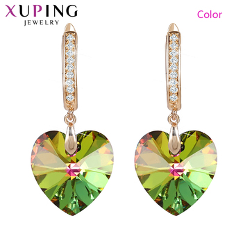 swarovski aila day heart 5242514 Xuping Heart Shaped Earings fashion jewelry Crystals from Swarovski  Valentine's Day Exquisite Gift for Women  Girls SS3-20509
